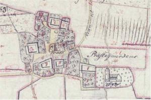 Gadstrup - Gadstrup in 1808