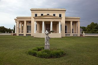Demopolis, Alabama - Nathan B. Whitfield's Gaineswood in 2010, built from 1843–61 on what was then the outskirts of town.