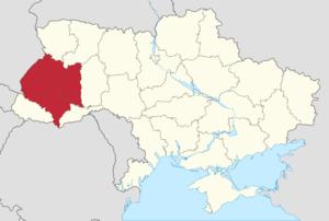 Ukrainian sovereignty referendum, 1991 - Location of Galicia in Ukraine