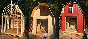 Gambrel Shed construction.jpg