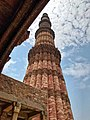 Game of perspectives ! One of my perspectives to the beautiful Qutub Minar.jpg