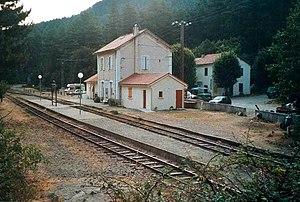 GR 20 - The railway station in Vizzavona.