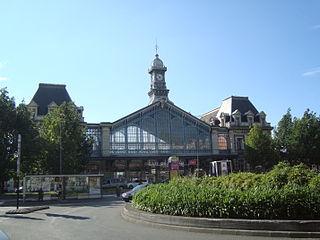 Gare de Roubaix railway station in Roubaix, France