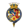 Garter encircled arms of Gustav, Crown Prince of Sweden.png