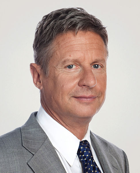 """Gary Johnson's poll collapse is happening, as predicted,"" trumpets the Washington Post's Philip Bump. ""Gary Johnson flames out,"" smirks Steven Shepard at Politico. &#8220..."