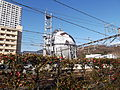 Gasholder near at Kofu station.JPG