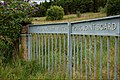 Gate off the Shane's Hill Road near Larne - geograph.org.uk - 512462.jpg