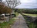 Gated road near Mull of Kintyre - geograph.org.uk - 1572004.jpg