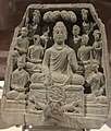 Gautama Buddha first sermon in Sarnath.jpg