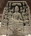 Gautama Buddha first sermon in Sarnath.jpg