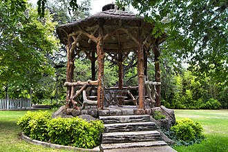 National Register of Historic Places listings in Kendall County, Texas - Image: Gazebo for albert steves 2013