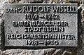 Gedenktafel Heerstr 428 (Staak) Rudolf Wissell.jpg