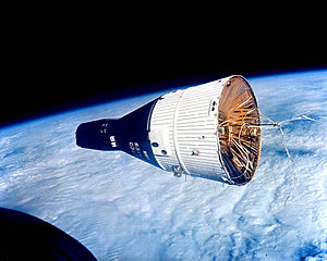 Gemini 7 as seen by Gemini 6
