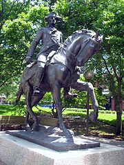 General Anthony Wayne Statue