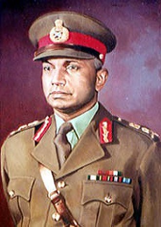 Chief of the Army Staff (India) - Image: General Satyawant Mallana Srinagesh