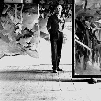 Georg Baselitz - Georg Baselitz (photographed by Lothar Wolleh.)