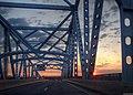 George C Platt Bridge sunset - US-PA.jpg