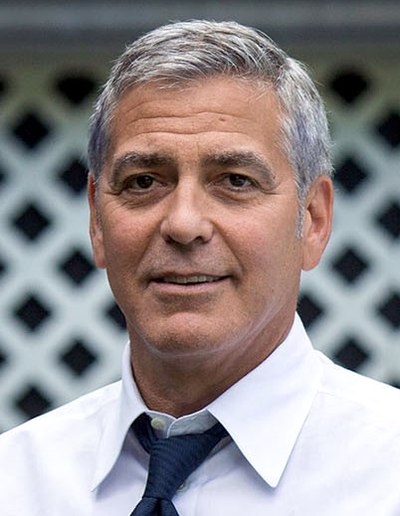 George Clooney, American actor, filmmaker, and activist