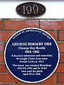 George Formby - Blue Plaque, Inner Promenade, Lytham St Annes.jpg