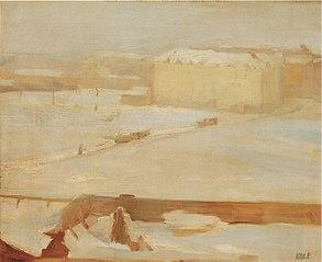 Krajina pod sněhem - Hamburk