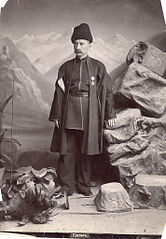 Georgian. 1880-1890. Alexandre Roinashvili. Tbilisi History Museum Collection. Fur hat.jpg