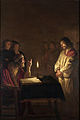 Gerard van Honthorst - Christ before the High Priest - WGA11650.jpg