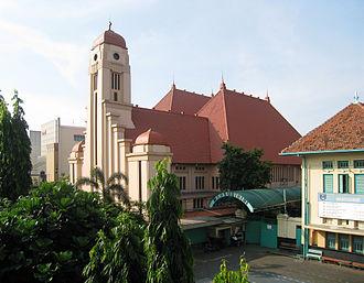Jatinegara - Saint Joseph's Church in Jatinegara.