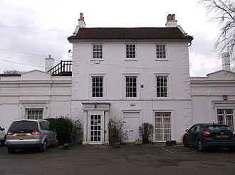 Gerrards Cross Memorial Building - The Gerrards Cross Memorial Centre, formerly the vicarage but converted into a memorial to the Second World War