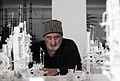 Gerry Judah, in his studio, 2014.JPG