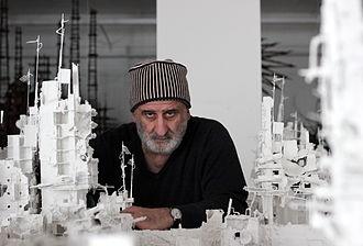 Gerry Judah - Judah in his London studio, 2014