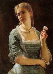 Portret Jadwigi Strachockiej