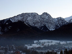 Giewont - Image: Giewont mist
