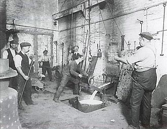 Gillett & Johnston - Image: Gillett & Johnston foundry