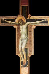 The Crucifixion altarpiece at Tempio Malatestiano Rimini