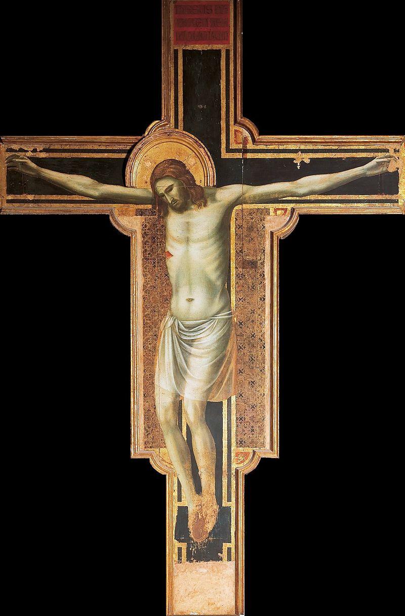 El retablo Crucifixión en Tempio Malatestiano de Rimini