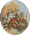 Giovanni Battista Tiepolo, Zéphyr et Flore.png