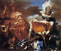 Giovanni Benedetto Castiglione - Circe - WGA4544