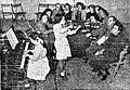 Gita Dunie-Weizman and Friedman-Lvov examining female students at the Haifa Music Institute.jpg