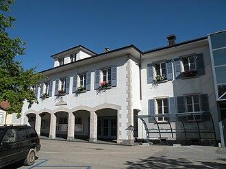 Gland, Switzerland - Gland municipal administration building