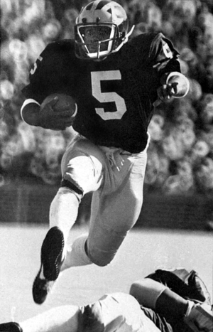 1974 All-Big Ten Conference football team - Second-team running back Gordon Bell of Michigan