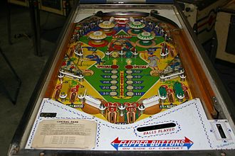 Gottlieb - Central Park, a 1966 pinball machine by Gottlieb.