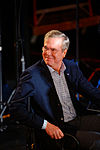 Governor of Florida Jeb Bush, Announcement Tour and Town Hall, Adams Opera House, Derry, New Hampshire by Michael Vadon 08.jpg