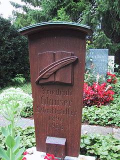 Friedrich Glauser Swiss writer