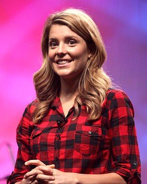 Grace Helbig - Helbig at VidCon 2012