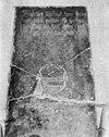 grafsteen voor de preekstoel - altforst - 20007910 - rce