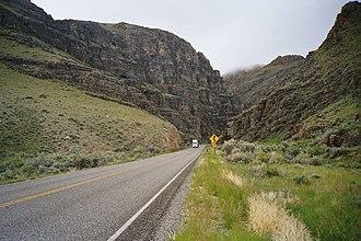 Custer County, Idaho - Grand View Canyon (US-93)