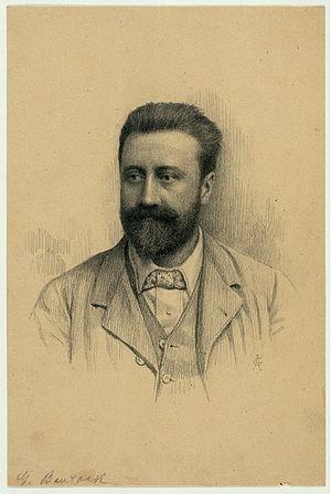 English: Pencil drawing of Granville Bantock