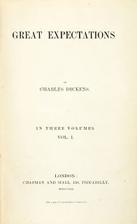 <i>Great Expectations</i> 1861 novel by Charles Dickens