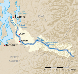 Green River (Duwamish River tributary) - Wikipedia on map of kent wa area, map of seattle, map of beaverton oregon, map of kent falls, map of kent ohio, map of kent county, map of eugene oregon, map auburn to kent wa, map of kent state, interurban trail map kent washington, map central ave in kent, map of downtown kent wa, map of kent station wa, downtown kent washington, map of kent olympia,