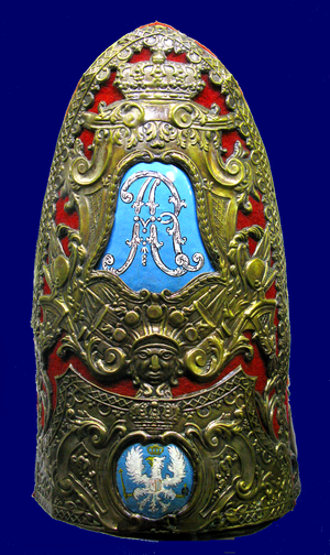 Royal Guards (Poland) - Headgear of a Polish Royal Guard officer, 1697-1733